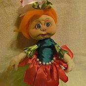 Куклы и игрушки ручной работы. Ярмарка Мастеров - ручная работа кукла Розочка. Handmade.