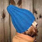 Шапки ручной работы. Ярмарка Мастеров - ручная работа Шапки: Осенняя шапка-тыковка. Handmade.