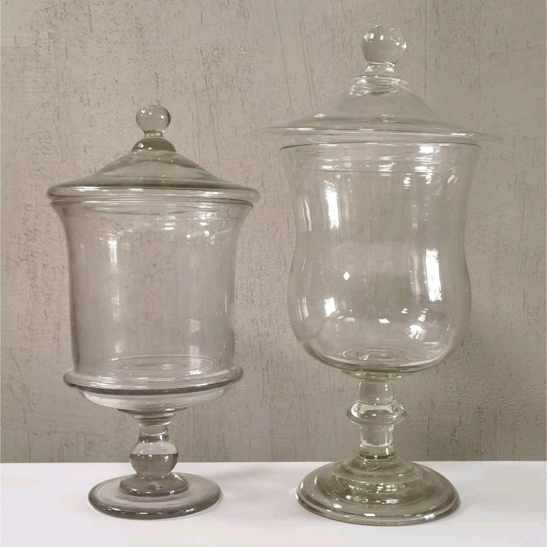 Две винтажные бисквитницы стекло, Вазы, Москва,  Фото №1