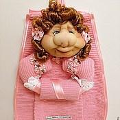 Для дома и интерьера ручной работы. Ярмарка Мастеров - ручная работа Текстильная Кукла Держатель для Кухонных Полотенец -2. Handmade.