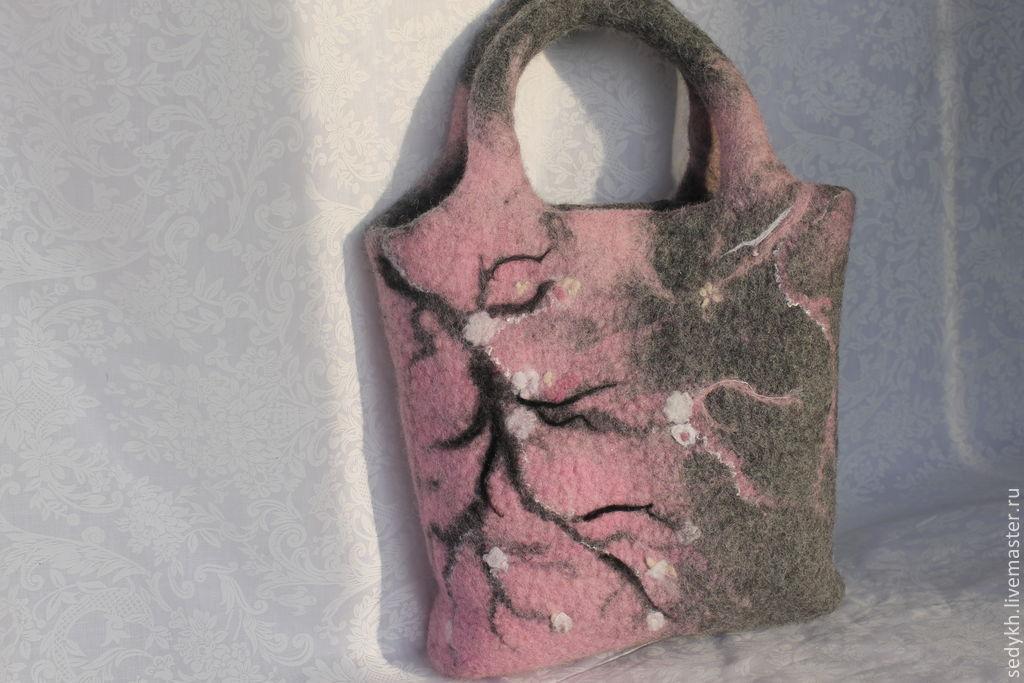 валяние из шерсти для начинающих сумок фото значимой