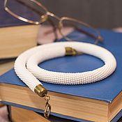Украшения handmade. Livemaster - original item Harness White. Handmade.