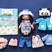 Куклы и игрушки handmade. Livemaster - original item Play doll,interior, textile, play doll with clothes.. Handmade.
