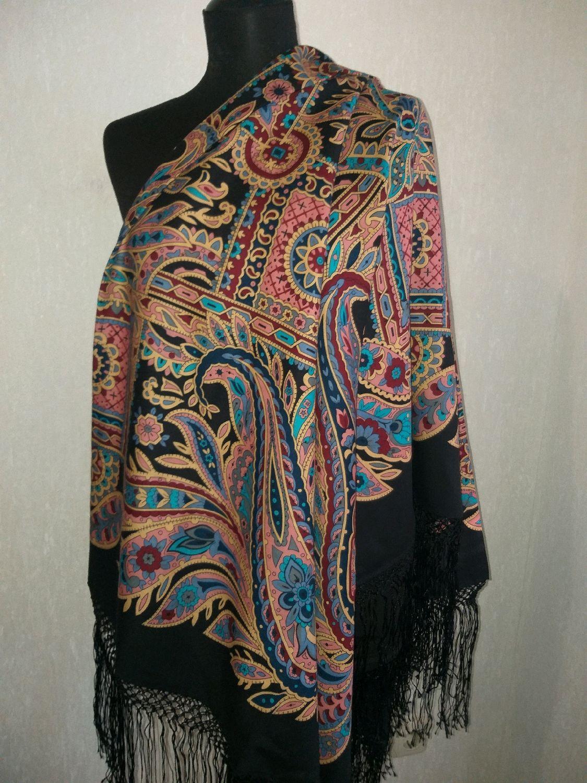 павловопосадские платки купить в нижнем