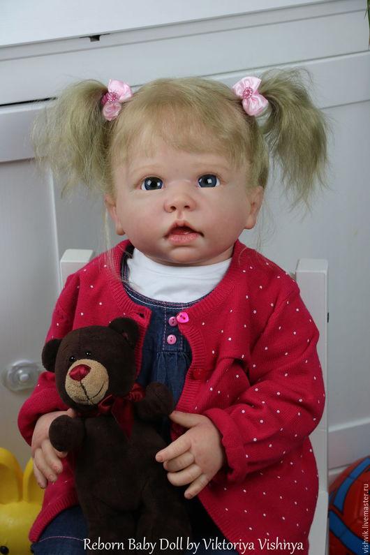 Куклы-младенцы и reborn ручной работы. Ярмарка Мастеров - ручная работа. Купить Типпи. Handmade. Розовый, винил