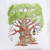 Для дома и интерьера handmade. Livemaster - original item Pouch with embroidered