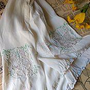 Винтаж handmade. Livemaster - original item Silk knickers with embroidery. Handmade.