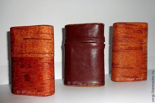 Подарки для мужчин, ручной работы. Ярмарка Мастеров - ручная работа. Купить Портсигар. Handmade. Береста, авторская работа, сигареты