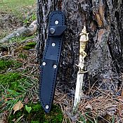 Сувениры и подарки handmade. Livemaster - original item Weapons: Knife camping Fox. Handmade.