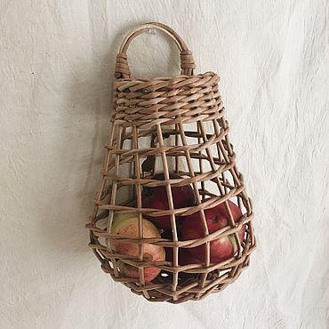 Для дома и интерьера ручной работы. Ярмарка Мастеров - ручная работа Подвесная корзина. Handmade.