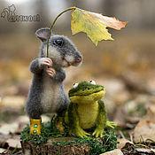 Куклы и игрушки ручной работы. Ярмарка Мастеров - ручная работа Прогулка в лесу.. Handmade.
