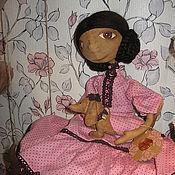 Куклы и игрушки ручной работы. Ярмарка Мастеров - ручная работа Кукла Зара и собака.. Handmade.