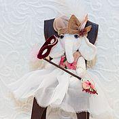 """Куклы и игрушки ручной работы. Ярмарка Мастеров - ручная работа Слоник """"Маленькая Венецианка"""". Handmade."""