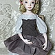 Коллекционные куклы ручной работы. Ярмарка Мастеров - ручная работа. Купить Будуарная подвижная кукла. Handmade. Будуарная кукла