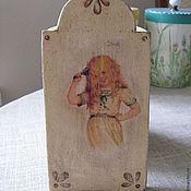 """Картины и панно ручной работы. Ярмарка Мастеров - ручная работа Маленькое панно """"Модница"""". Handmade."""