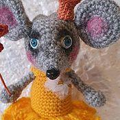 Мягкие игрушки ручной работы. Ярмарка Мастеров - ручная работа Мышка Принцесса. Handmade.