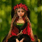 """Куклы и игрушки ручной работы. Ярмарка Мастеров - ручная работа Авторская шарнирная кукла """"Кларисса"""". Handmade."""