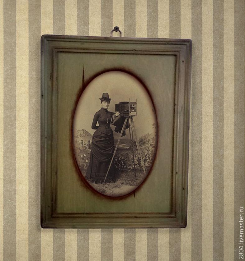 Фоторамка оливковая деревянная Рамки со стеклом, Фоторамки, Киров, Фото №1