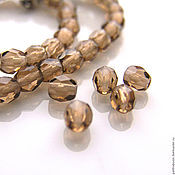 Материалы для творчества handmade. Livemaster - original item Glass beads Czech Republic 4 mm. Handmade.