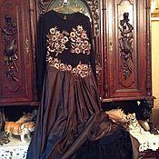 Винтаж ручной работы. Ярмарка Мастеров - ручная работа Франция, красивое вечернее платье, новое. Handmade.