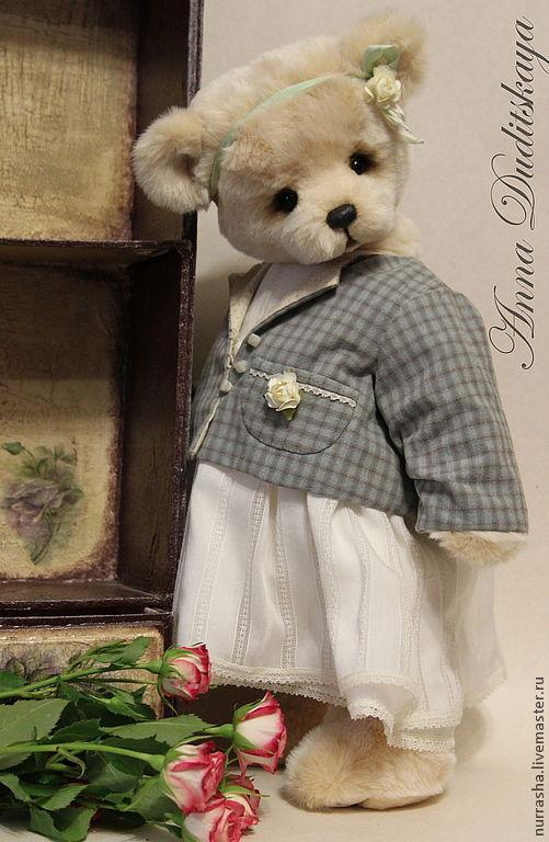 Мишки Тедди ручной работы. Ярмарка Мастеров - ручная работа. Купить Лика.... Handmade. Бежевый, мишка ручной работы