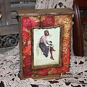 Для дома и интерьера ручной работы. Ярмарка Мастеров - ручная работа Ключница Парижанка. Handmade.