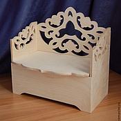 Материалы для творчества manualidades. Livemaster - hecho a mano Títeres sofá-caja de joyería.. Handmade.