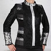 """Одежда ручной работы. Ярмарка Мастеров - ручная работа Авторская Куртка в слиле """"Пэчворк"""". Handmade."""