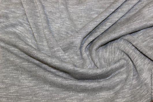 Шитье ручной работы. Ярмарка Мастеров - ручная работа. Купить Вискозный трикотаж,цвет серый. Handmade. Итальянская ткань