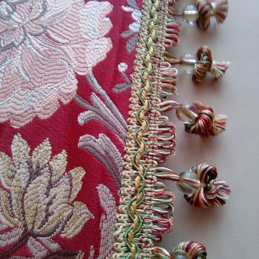 Текстиль ручной работы. Ярмарка Мастеров - ручная работа Бахрома для штор. Handmade.