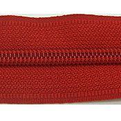 Молнии ручной работы. Ярмарка Мастеров - ручная работа Молния №5 витая рулонная красная. Handmade.