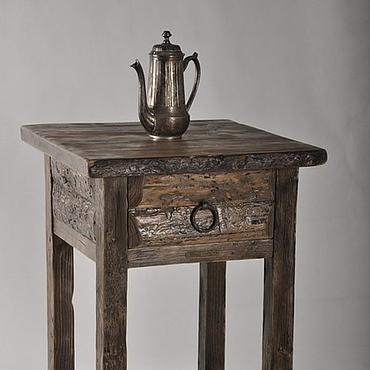 Для дома и интерьера ручной работы. Ярмарка Мастеров - ручная работа Кофейный стол в винтажном стиле. Handmade.