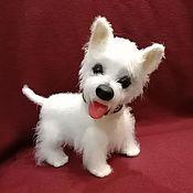 Stuffed Toys handmade. Livemaster - original item West highland white Terrier puppy. Handmade.