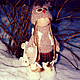 Коллекционные куклы ручной работы. Ярмарка Мастеров - ручная работа. Купить Интерьерная Кукла. Handmade. Интерьерная кукла, интересный подарок