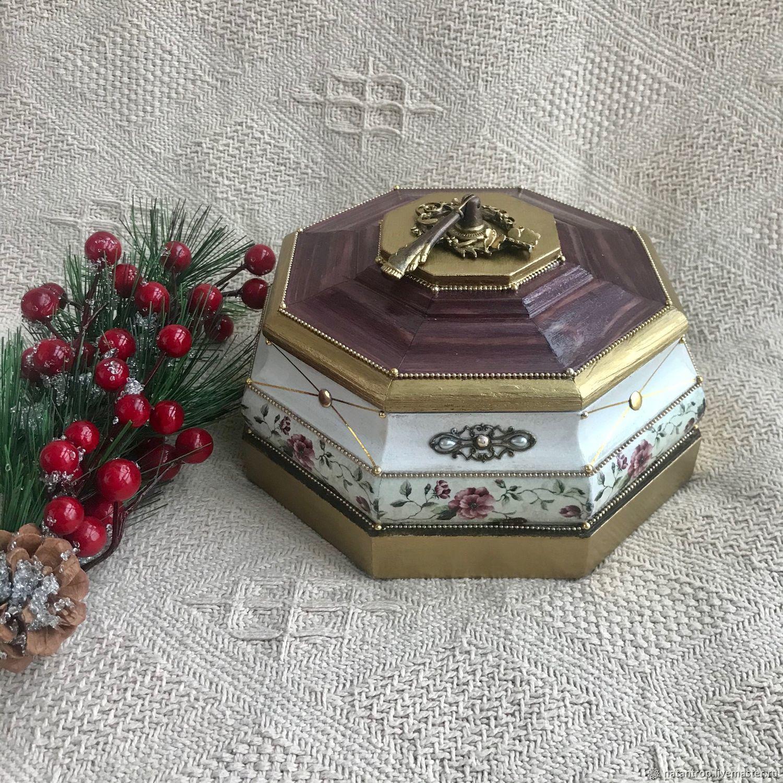 Интерьерная шкатулка в викторианском стиле, Шкатулки, Санкт-Петербург,  Фото №1