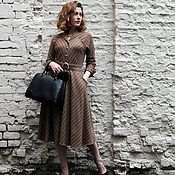 Одежда handmade. Livemaster - original item Dress in retro style made of wool