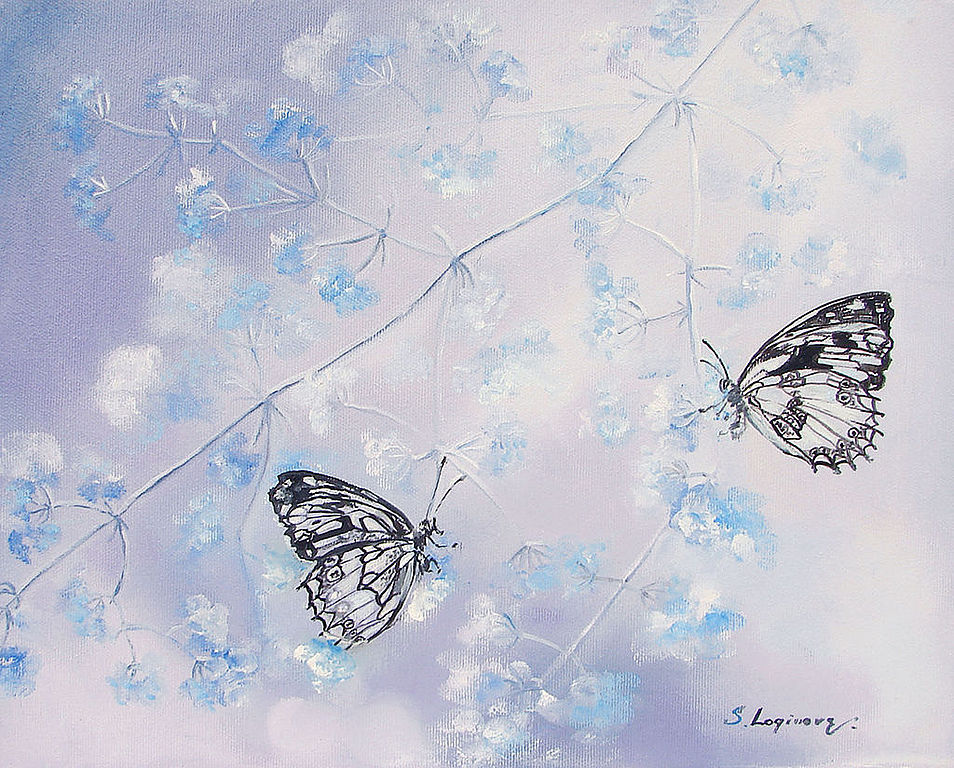 Вариант с двумя бабочками. На заказ