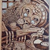 """Картины и панно ручной работы. Ярмарка Мастеров - ручная работа Картина """"Душевный разговор"""". Handmade."""
