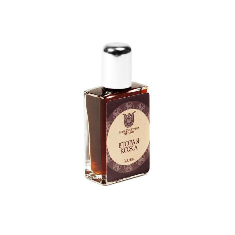Натуральные духи Вторая кожа - мягкий, гурманско-кожаный шипровый аромат.