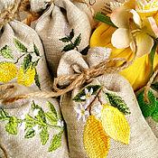 """Сувениры и подарки ручной работы. Ярмарка Мастеров - ручная работа Набор """"Лимонный мохито"""" 7 предметов. Handmade."""