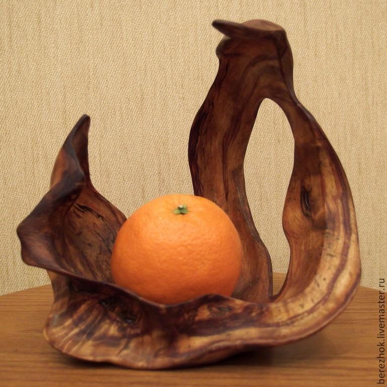 """Ваза для фруктов """"Лебедь"""""""
