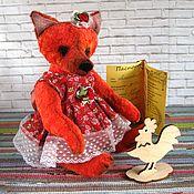 Куклы и игрушки ручной работы. Ярмарка Мастеров - ручная работа Лисичка-сестричка. Handmade.