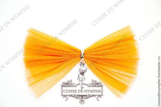 Шитье ручной работы. Ярмарка Мастеров - ручная работа. Купить Фатин мягкий (еврофатин) оранжевый HYLT-7026. Handmade. Фатин