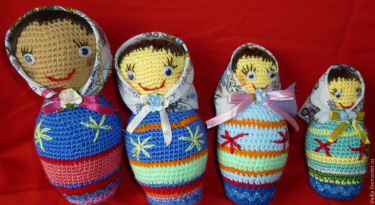Коллекционные куклы ручной работы. Ярмарка Мастеров - ручная работа. Купить Матрешка. Handmade. Комбинированный, сувенир из россии, игрушки