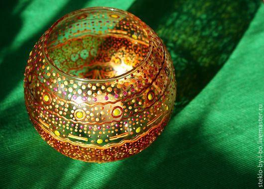 """Подсвечники ручной работы. Ярмарка Мастеров - ручная работа. Купить подсвечник """"Марокканский"""". Handmade. Разноцветный, подсвечник подарок, марокко"""