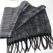 Аксессуары handmade. Livemaster - original item Felted scarf men`s