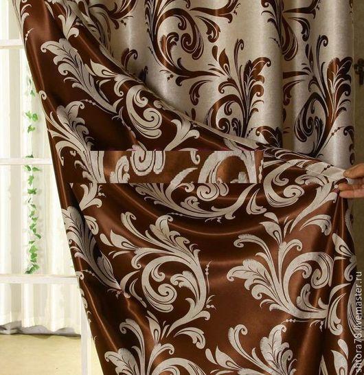 Текстиль, ковры ручной работы. Ярмарка Мастеров - ручная работа. Купить Шторы. Handmade. Шторы, пошив под заказ, двухсторонняя