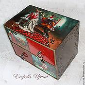 Для дома и интерьера handmade. Livemaster - original item Mini chest of drawers Illusion. Handmade.