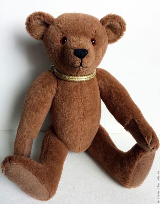 Мишки Тедди ручной работы. Ярмарка Мастеров - ручная работа. Купить мишка Красс. Handmade. Коричневый, альпака, акриловая вата