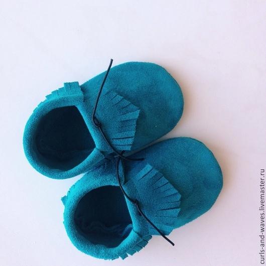 Детская обувь ручной работы. Ярмарка Мастеров - ручная работа. Купить Детские ботиночки. Handmade. Тёмно-синий, ботиночки